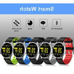 XGODY 1.3 inch Smart Watch Activity Trackers Health Exercise