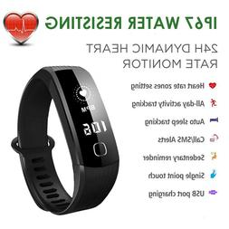 Smart Watch Bracelet Wristband 24HR Heart Rate Monitor Fitne
