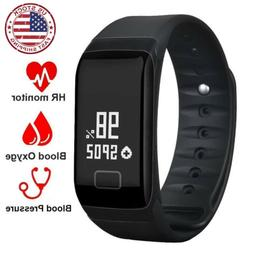 2x2019 Latest Smart Watch Wrist Band Bracelet Fitness Tracke