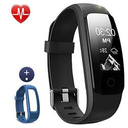 Lintelek Fitness Tracker, 107Plus Heart Rate Monitor Activit