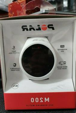 Polar M200 GPS Running Watch White