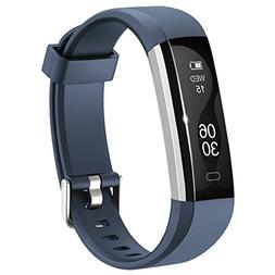 Activity Tracker , Lintelek Slim Fitness Tracker Watch, Touc