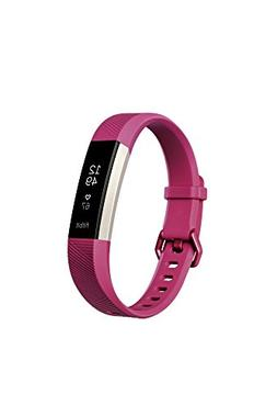 Fitbit - Alta HR Activity Tracker + Heart Rate  - Fuchsia