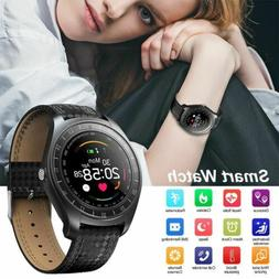 Bluetooth Men Women Smart Watch Heart Rate Monitor Wristwatc