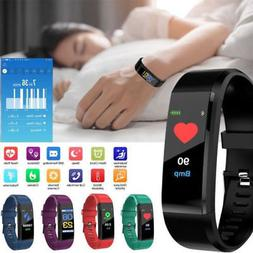 bluetooth smart bracelet wristband sport watch heart