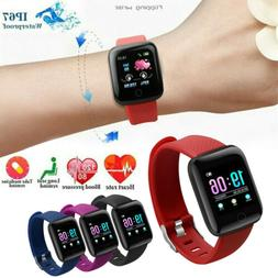 Bluetooth Smart Watch Heart Rate Blood Oxygen Sport Fitness