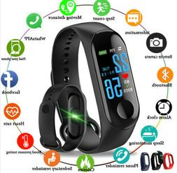Bluetooth Smart Watch Pedometer Sleep Health Heart Rate Moni