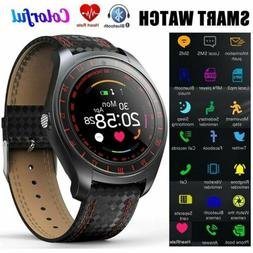 Men Women Bluetooth Smart Watch Heart Rate Monitor Wristwatc