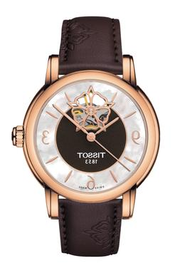 *BRAND NEW* Tissot Women's Heart Automatic Brown Leather Wat