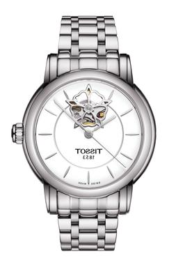 *BRAND NEW* Tissot Women's Heart Flower Silver Tone Watch T0