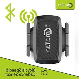 Meilan C1 Bike Speed/Cadence 2-in-1 Sensor,Bluetooth/ANT+