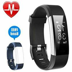 Calorie Counters Letsfit Fitness Tracker HR, Activity Watch
