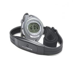 Sportline Cardio 630 Women's Grey Monitor Watch With ECG Acc