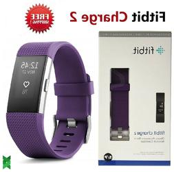 Fitbit Charge 2 Activity Tracker + Heart Rate -Small - Black