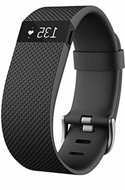 Fitbit Charge HR FB405BKS Activity Tracker with Heart Rate M