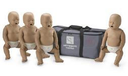 4-Pack of Infant CPR Manikins with Compression Rate Monitors