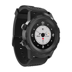 3Plus Cruz Hybrid Smart Watch with Heart Rate Monitor, Pedom