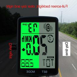 Cycling Bicycle Bike Computer Cadence Stopwatch HeartRate