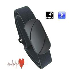 Cycling Computer Heart Rate Monitor Chest Strap Bluetooth 4.