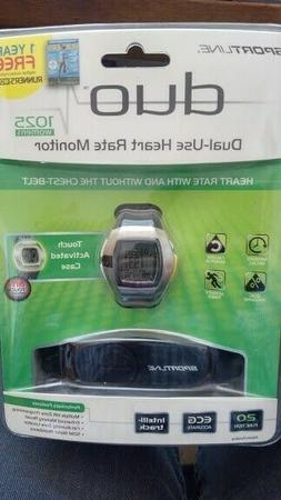 Sportline DUO 1025  Heart Rate Monitor