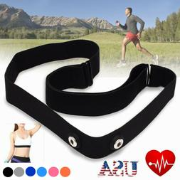 Elastic Chest Belt Strap For Garmin Wahoo Polar Sport Heart