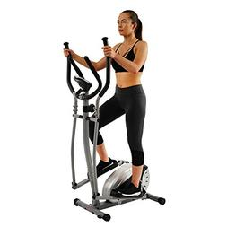 Magnetic Elliptical Machine Trainer by Sunny Health & Fitnes