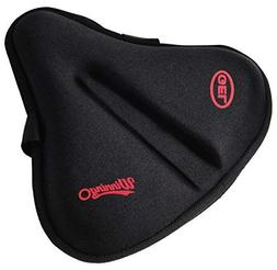 Exercise Bike Gel Seat Cushion Cover For XLarge And Wide Bic
