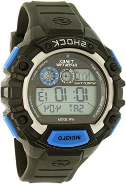 Timex Expedition Global Shock Watch - Black/Blue