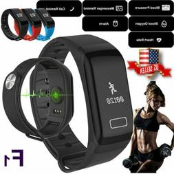 F1 Fitness Blood Pressure Tracker Heart Rate Monitor Smart W