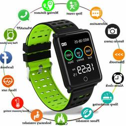 F3 bluetooth Smart Watch Heart Rate Oxygen Blood Pressure Sp