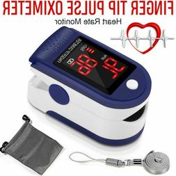 FDA SpO2 Finger Tip Pulse Oximeter Blood Oxygen Meter Heart