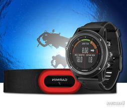 Garmin Fenix 3 HR Gray HRM-Run Swim Sport Fashion GPS Watch
