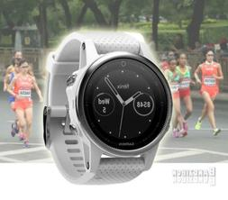 GARMIN Fenix 5S Watch Silver Carrara Band GPS HRM Sports Run