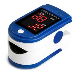 Finger Pulse LED Oximeter Blood Oxygen Saturation SPO2 Heart