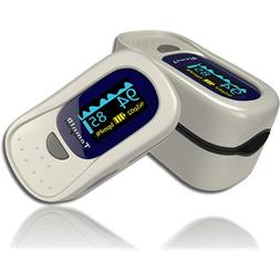 Finger Pulse Oximeter - Portable - FDA Approved - Digital Bl
