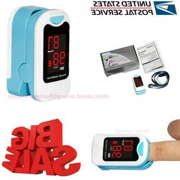 US seller Finger Pulse Oximeter Blood Oxygen Sensor O2 SpO2