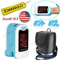 Finger Pulse Oximeter Blood Oxygen Saturation SPO2 Heart Rat