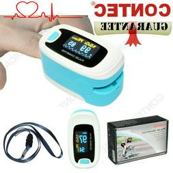 LCD Finger tip Pulse oximeter blood oxygen Heart Rate monito