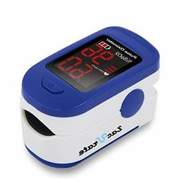 Fingertip Pulse Oximeter LED Display Blood Oxygen Saturation