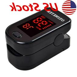 Fingertip Pulse Oximeter Heart Rate Monitor Blood Oxygen Sat