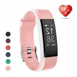 Fitness Activity Tracker By LETSCOM Heart Rate Monitor Pedom