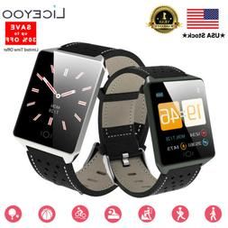 LICEYOO Fitness Activity Tracker Watch HR Heart Rate monitor