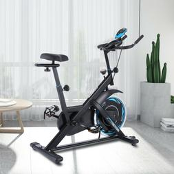 Fitness Cycling Exercise Bike Stationary Heart Rate Monitor