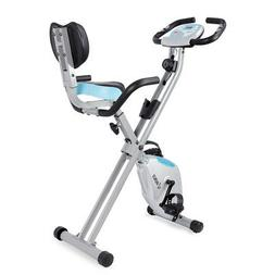 Akonza Fitness Foldable Magnetic Upright Exercise Bike w/Pul