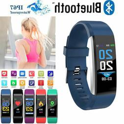 Fitness Smart Watch Activity Tracker Android iOS Heart Rate