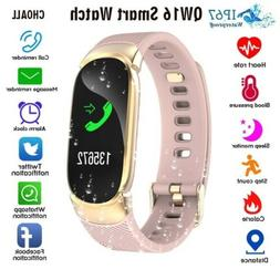 Fitness Smart Watch Activity Tracker Women Lady For Android