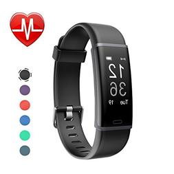 LETSCOM Fitness Tracker, Activity Tracker Heart Rate Monitor