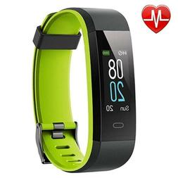Fitness Tracker Heart Rate Monitor Color Screen,IP68 Waterpr