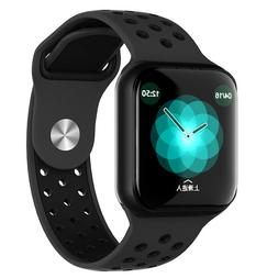 Fitness tracker heart rate monitor system F8 smart watch for