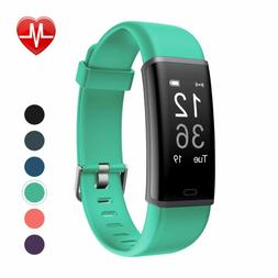 Letscom Fitness Tracker, Heart Rate Monitor Tooth Activity T